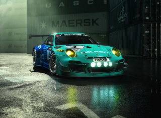 Falken Porsche 911 G Picture for Android, iPhone and iPad