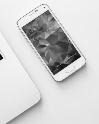Samsung Smartphone and Laptop - Obrázkek zdarma pro 128x160