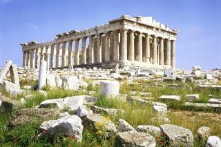 Parthenon Acropolis Athens Greece sfondi gratuiti per cellulari Android, iPhone, iPad e desktop