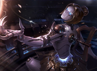 Orianna - League of Legends Background for Android, iPhone and iPad