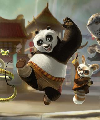 Kung Fu Panda - Obrázkek zdarma pro Nokia Lumia 820
