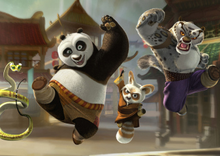 Kung Fu Panda - Obrázkek zdarma pro Sony Xperia M
