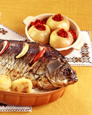 Seafood - Obrázkek zdarma pro Nokia Asha 308