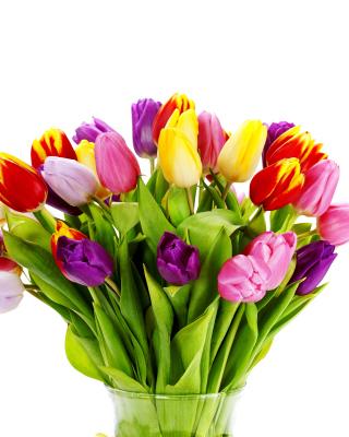Tulips Bouquet - Obrázkek zdarma pro 360x400