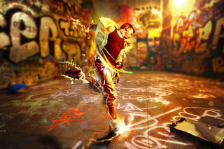 Street Dance Wallpaper for Huawei M865