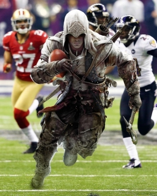 Assassins Creed 4 Super Bowl - Obrázkek zdarma pro iPhone 6