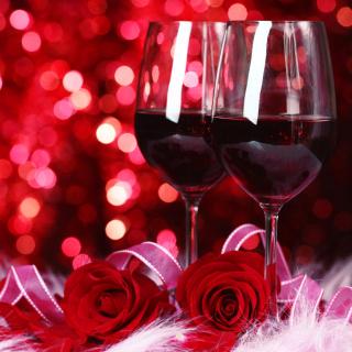 Romantic Way to Celebrate Valentines Day - Obrázkek zdarma pro 208x208