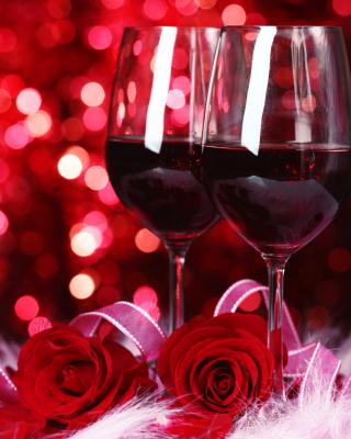 Romantic Way to Celebrate Valentines Day - Obrázkek zdarma pro iPhone 4