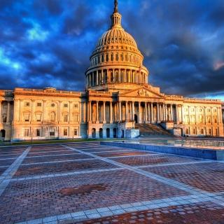 United States Capitol in Washington DC - Obrázkek zdarma pro 208x208