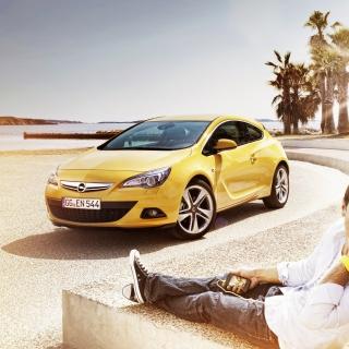 Couple with Opel - Obrázkek zdarma pro 2048x2048