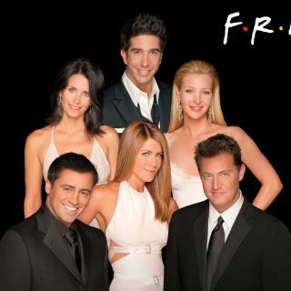 Friends Tv Show - Obrázkek zdarma pro iPad mini 2