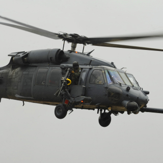 Helicopter Sikorsky HH 60 Pave Hawk - Obrázkek zdarma pro iPad Air