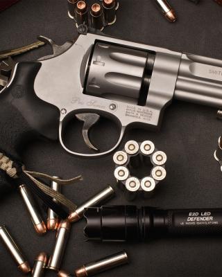 Smith & Wesson Revolver - Obrázkek zdarma pro Nokia X1-01