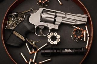Smith & Wesson Revolver - Obrázkek zdarma pro Nokia Asha 210