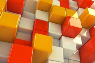 3D Cubs - Obrázkek zdarma pro Sony Xperia M