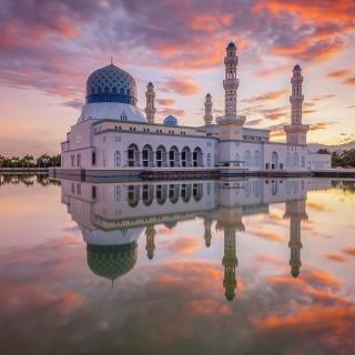 Kota Kinabalu City Mosque - Obrázkek zdarma pro iPad Air