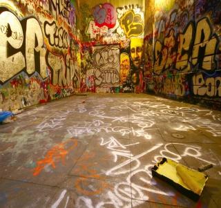 Street Graffiti - Obrázkek zdarma pro iPad Air