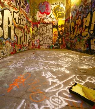 Street Graffiti - Obrázkek zdarma pro iPhone 5
