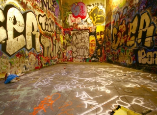 Street Graffiti - Obrázkek zdarma pro 480x320