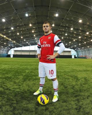 Jack Wilshere Arsenal - Obrázkek zdarma pro Nokia 300 Asha