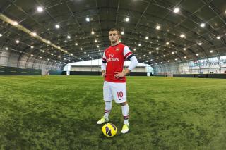 Jack Wilshere Arsenal - Obrázkek zdarma pro Samsung Galaxy Tab 4 8.0