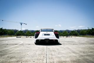 White Lexus - Obrázkek zdarma pro Fullscreen 1152x864