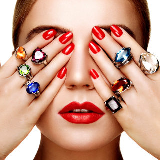 Rings on all Fingers - Obrázkek zdarma pro 1024x1024