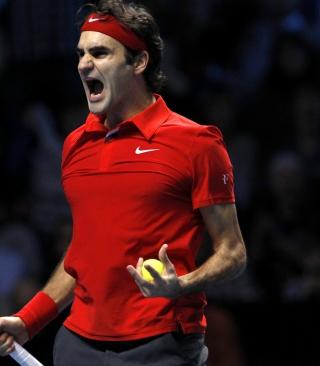 Federer Roger - Obrázkek zdarma pro Nokia Asha 303
