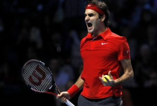 Federer Roger - Obrázkek zdarma pro Fullscreen Desktop 1280x960