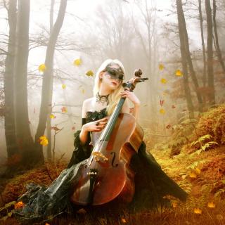 Fairy Woman in Forest - Obrázkek zdarma pro 1024x1024