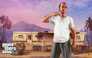 Grand Theft Auto V Background for Android, iPhone and iPad