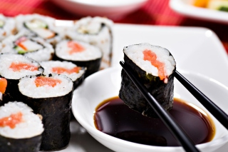 Japanese Sushi Wallpaper for Android, iPhone and iPad