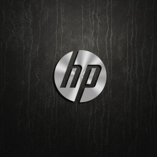 HP Dark Logo - Obrázkek zdarma pro 320x320