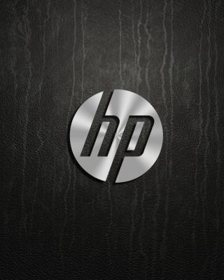 HP Dark Logo - Obrázkek zdarma pro Nokia Asha 308