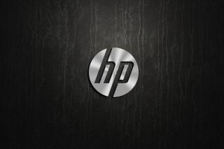 HP Dark Logo - Obrázkek zdarma pro Nokia Asha 205
