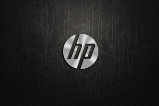 HP Dark Logo - Obrázkek zdarma pro LG Optimus M
