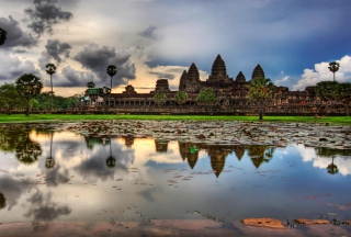 Angkor Wat Picture for Android, iPhone and iPad