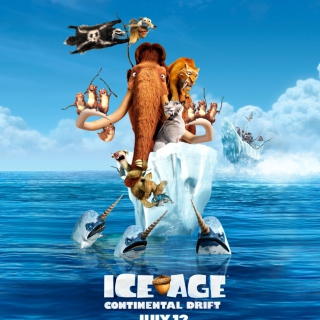 Ice Age Continental Drift - Obrázkek zdarma pro iPad mini 2