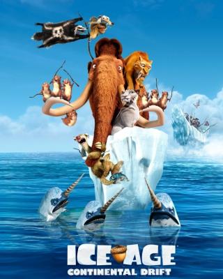 Ice Age Continental Drift - Obrázkek zdarma pro 320x480