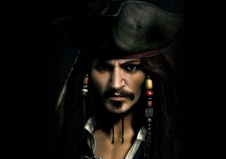 Captain Jack Sparrow - Obrázkek zdarma pro Samsung I9080 Galaxy Grand