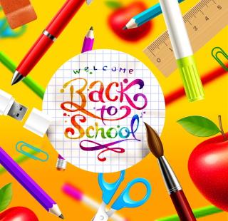 Back to School - Obrázkek zdarma pro iPad Air