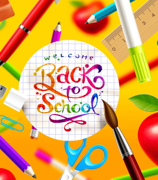 Back to School - Obrázkek zdarma pro Nokia X3