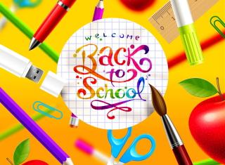 Back to School - Obrázkek zdarma pro Nokia Asha 200