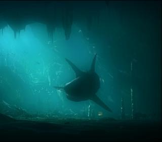 Shark Underwater - Obrázkek zdarma pro iPad mini