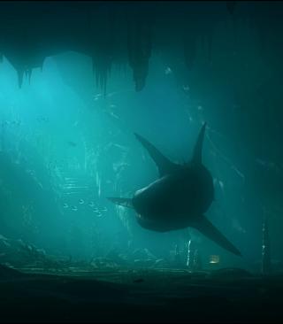 Shark Underwater - Obrázkek zdarma pro iPhone 4S