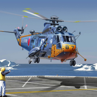 Sikorsky Helicopter - Obrázkek zdarma pro iPad 2