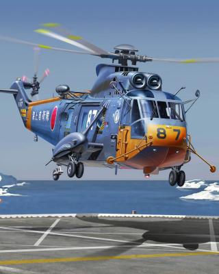 Sikorsky Helicopter - Obrázkek zdarma pro Nokia Asha 502