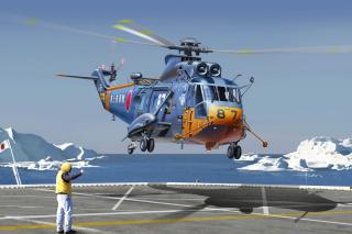 Sikorsky Helicopter - Obrázkek zdarma pro Samsung Galaxy S II 4G