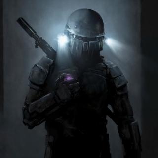 CS Soldier - Obrázkek zdarma pro iPad mini