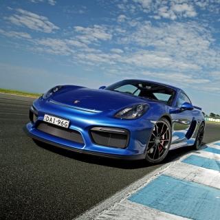 Porsche Cayman GT4 - Obrázkek zdarma pro 2048x2048
